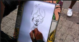 Artist caricature