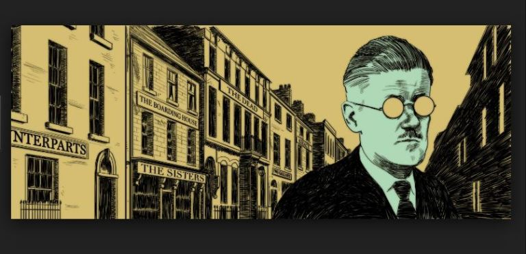the boarding house james joyce Overview of dubliners james joyce's dubliners was published in 1914, and it was his first major work of fiction he'd put out a book of poems a few years earlier  in 'the boarding house', mrs.