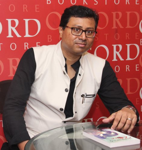 Chirajit Paul, the author of 'The Fragrance of Rose'