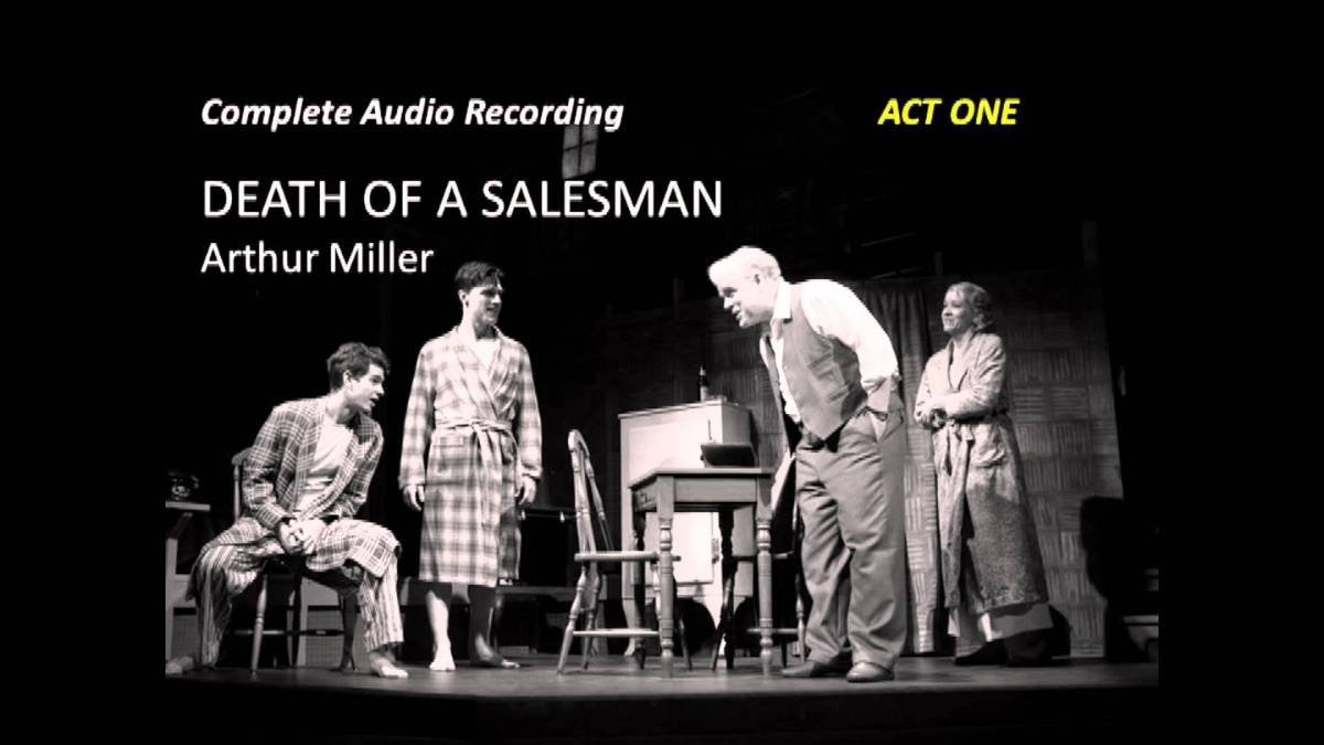 arthur millers death of a salesman essay View this term paper on death of a salesman in all of twentieth-century american drama it is arthur miller's 1949 masterwork death of a salesman that has been.