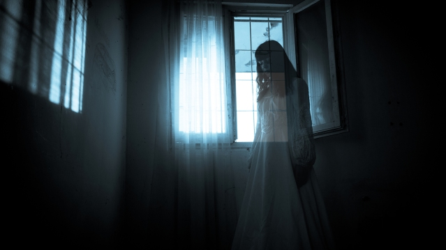 woman's ghost