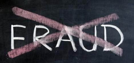Chalk drawing - No fraud