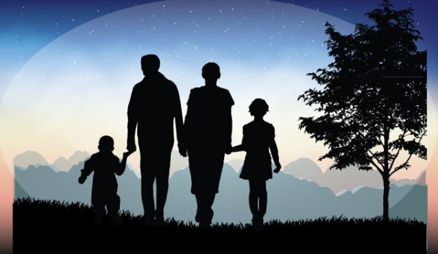 family-silhouettes
