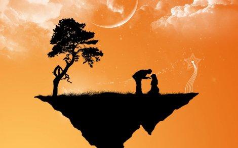 island-love-silhouette-couple-romance
