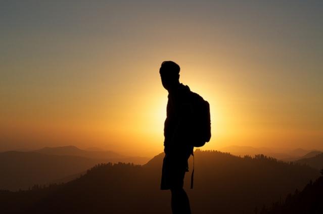 man-on-a-journey